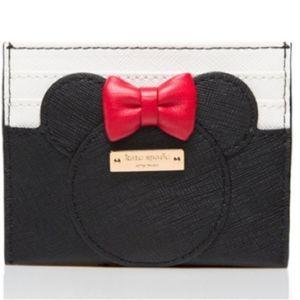 Kate Spade NY x Minnie Mouse Disney Card Holder